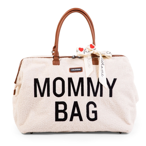 Childhome Sac A Langer Mommy Teddy Blanc