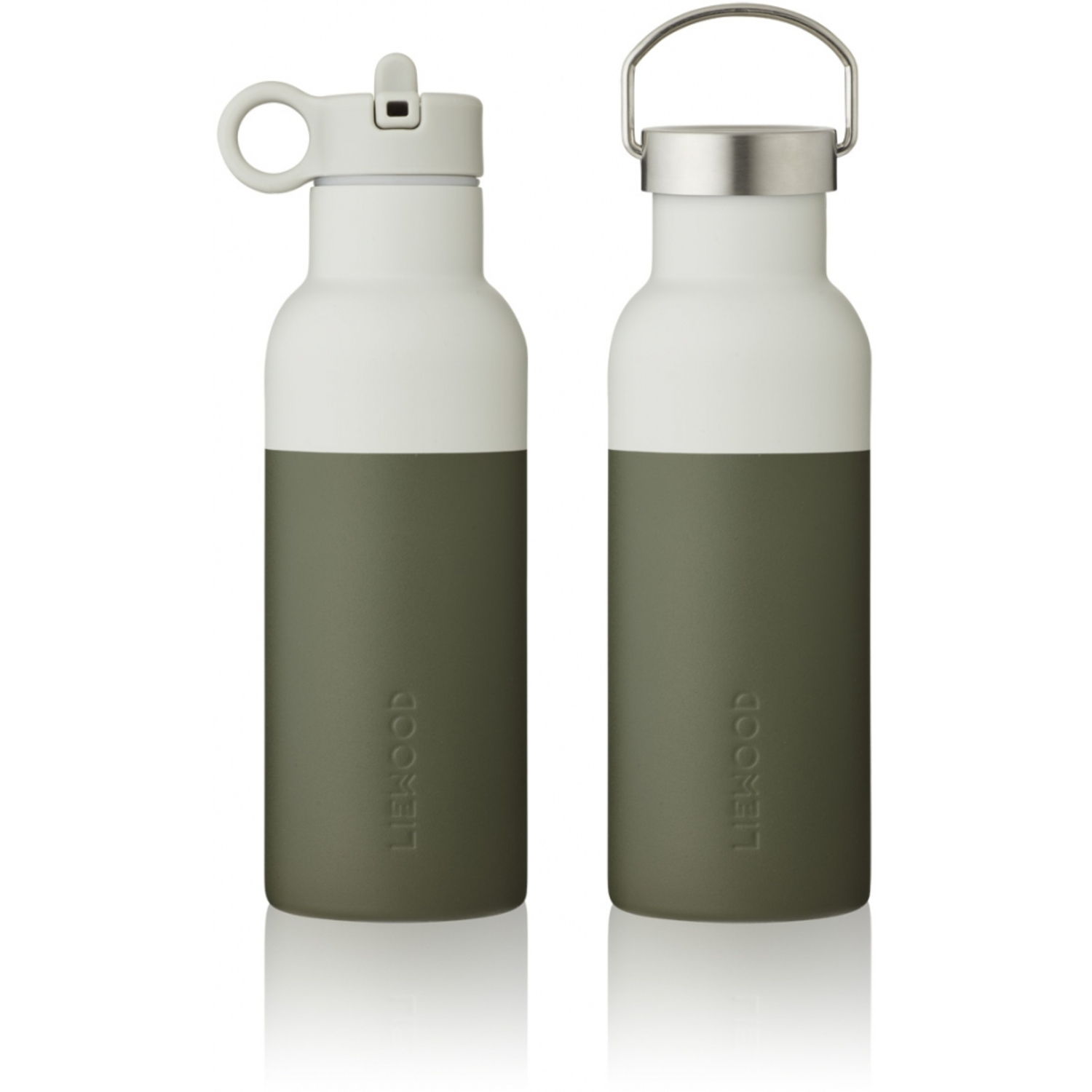 Gourde Thermos Neo Hunter Green / Dove Blue Mix (500 ml) Liewood
