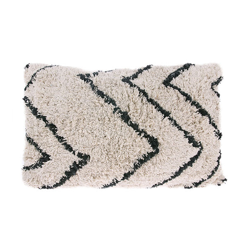 HK Living Coussin rectangulaire Zigzag