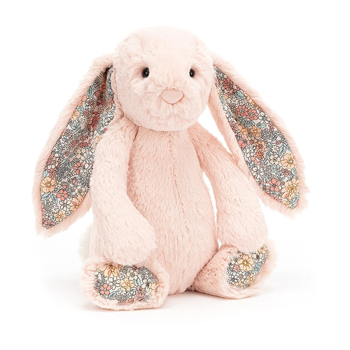 Jellycat Doudou Lapin Bashful Liberty Small Blush