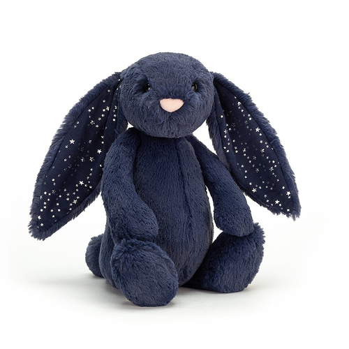 Jellycat Doudou Lapin Bashful Medium Stardust