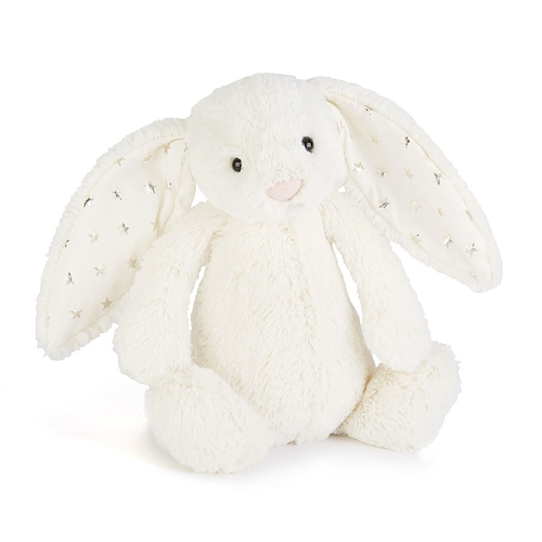 Jellycat Doudou Lapin Bashful Medium Twinkle