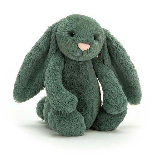 Jellycat Doudou Lapin Bashful Small Forest
