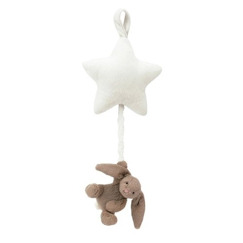 Jellycat Etoile Musicale Lapin Basfhul Beige