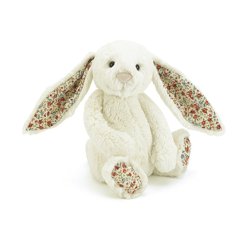 Jellycat Lapin Bashful Medium Liberty Crème
