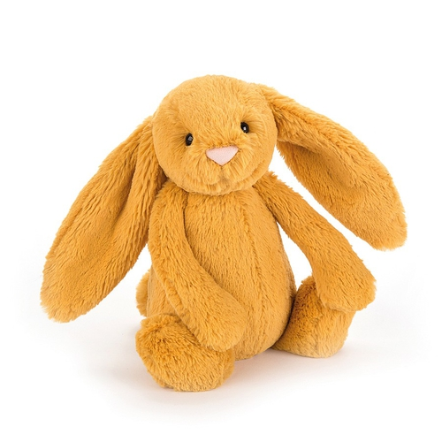 Jellycat Lapin Bashful Medium Safran
