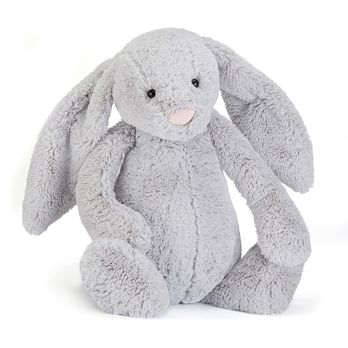Jellycat Lapin Bashful Medium Silver