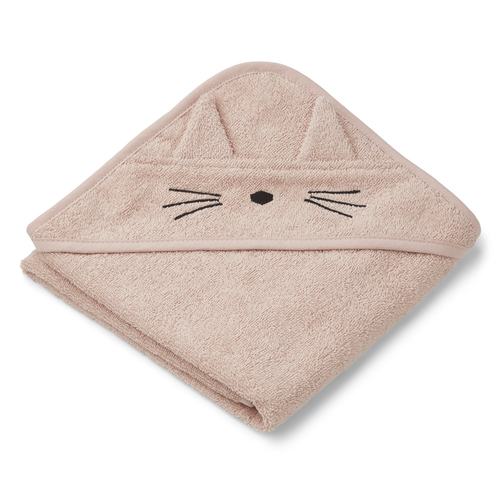 Liewood Cape de Bain Albert Chat Rose