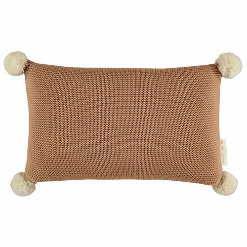 Nobodinoz Coussin Tricot Biscuit