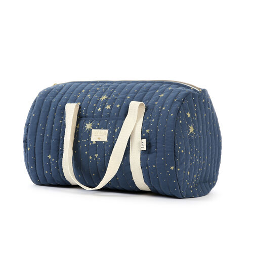 Nobodinoz Sac Weekend new york Gold Stella/ Night Blue