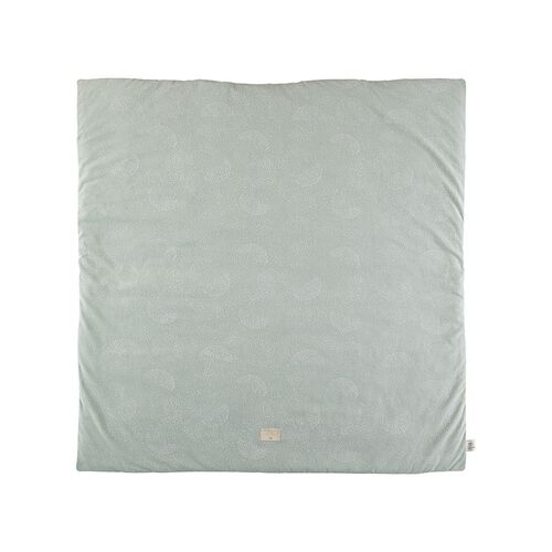 Nobodinoz Tapis de Jeu Colorado White Bubble/ Aqua