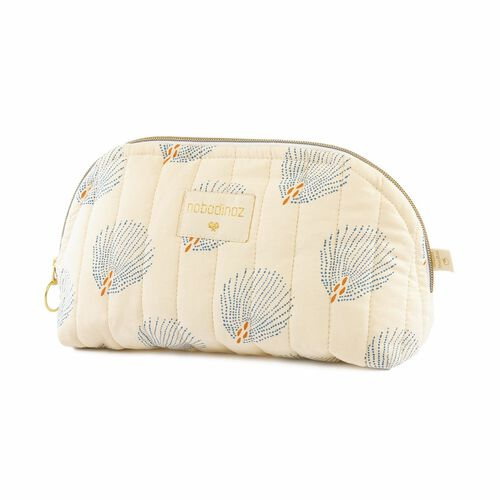 Nobodinoz Trousse de toilette Holidays Blue Gatsby/ Cream