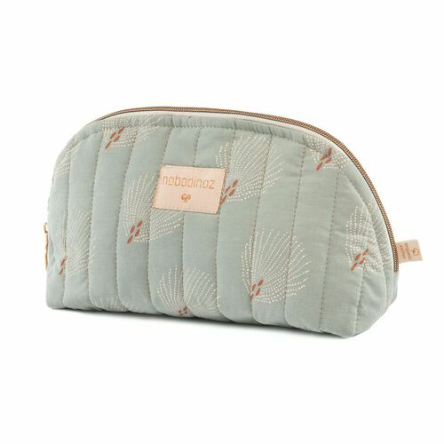 Nobodinoz Trousse de toilette Holidays White Gatsby/ Antique Green
